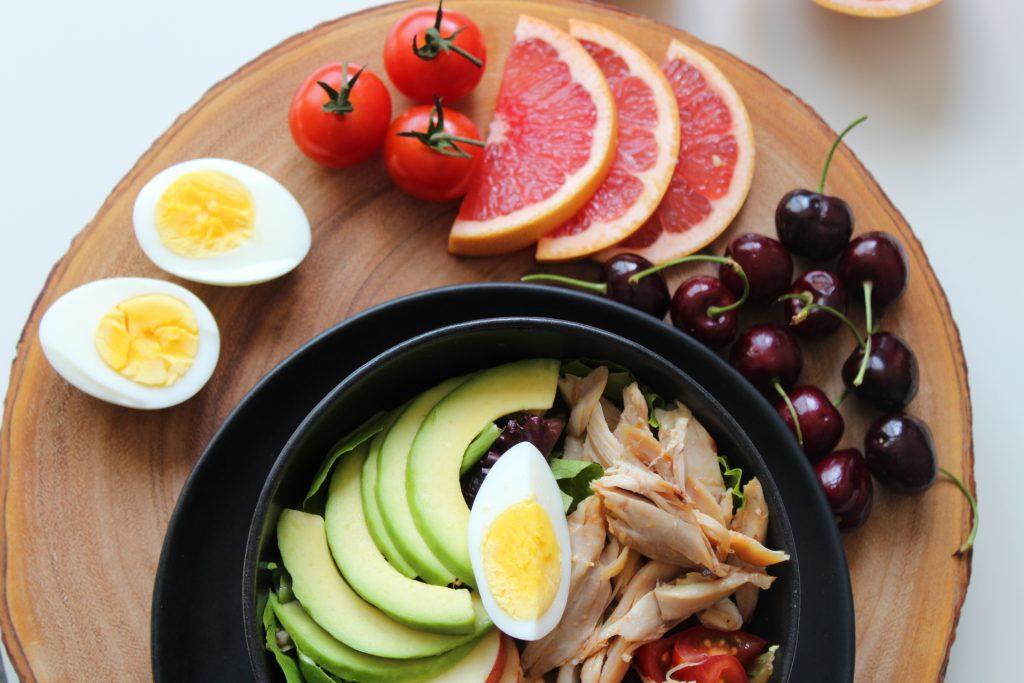 terveellinen ravinto lisää vireyttä
