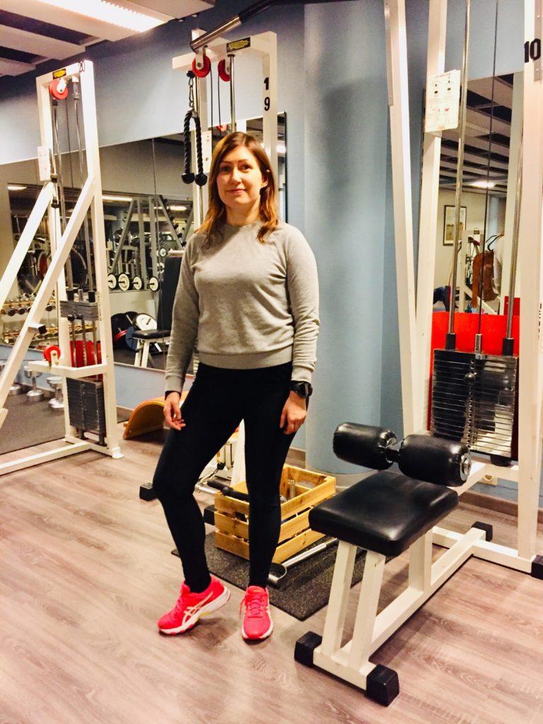 Fysioterapeutti ja personal trainer Jonna Pitkänen