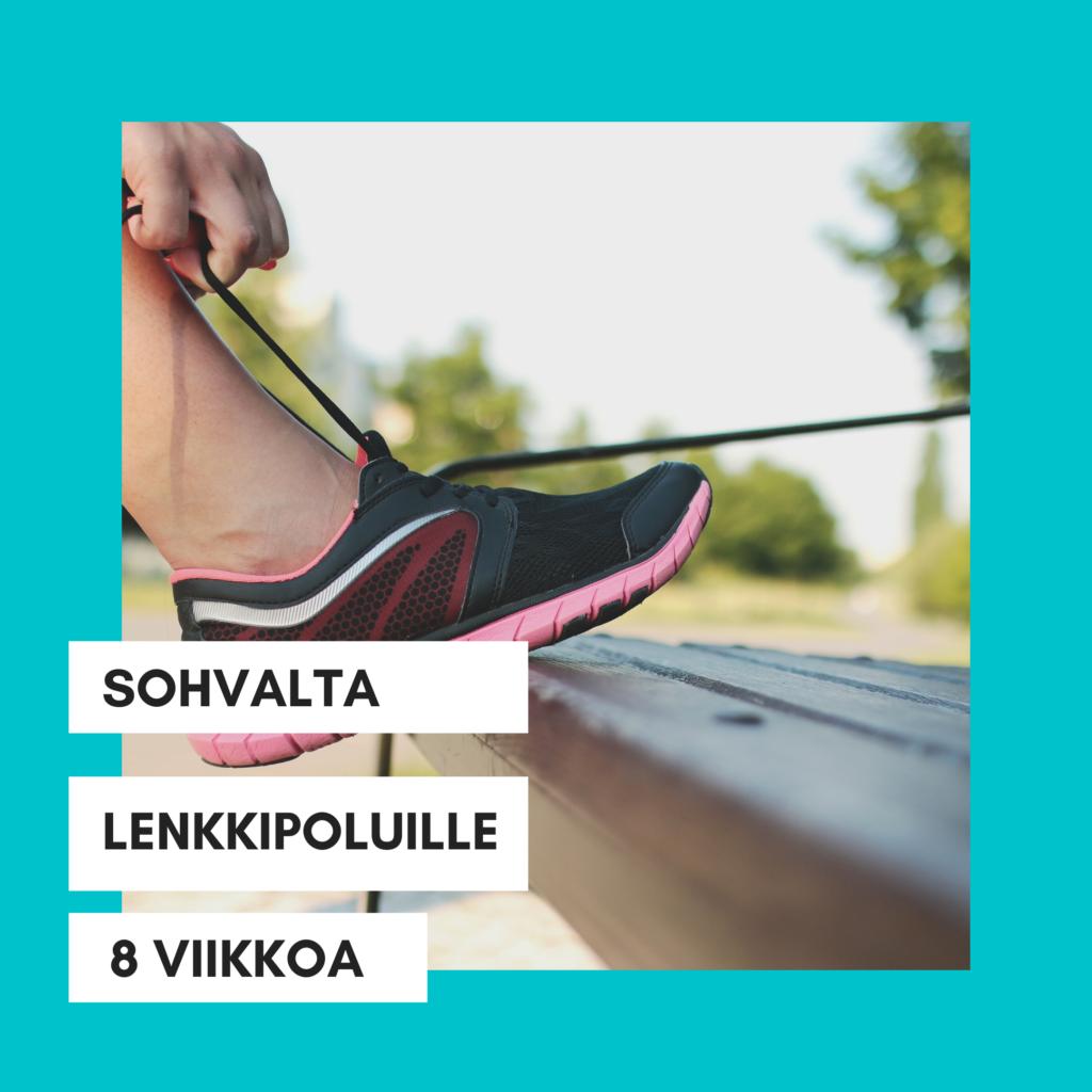 sohvalta lenkkipoluille keski-ikäisten naisten juoksukoulu