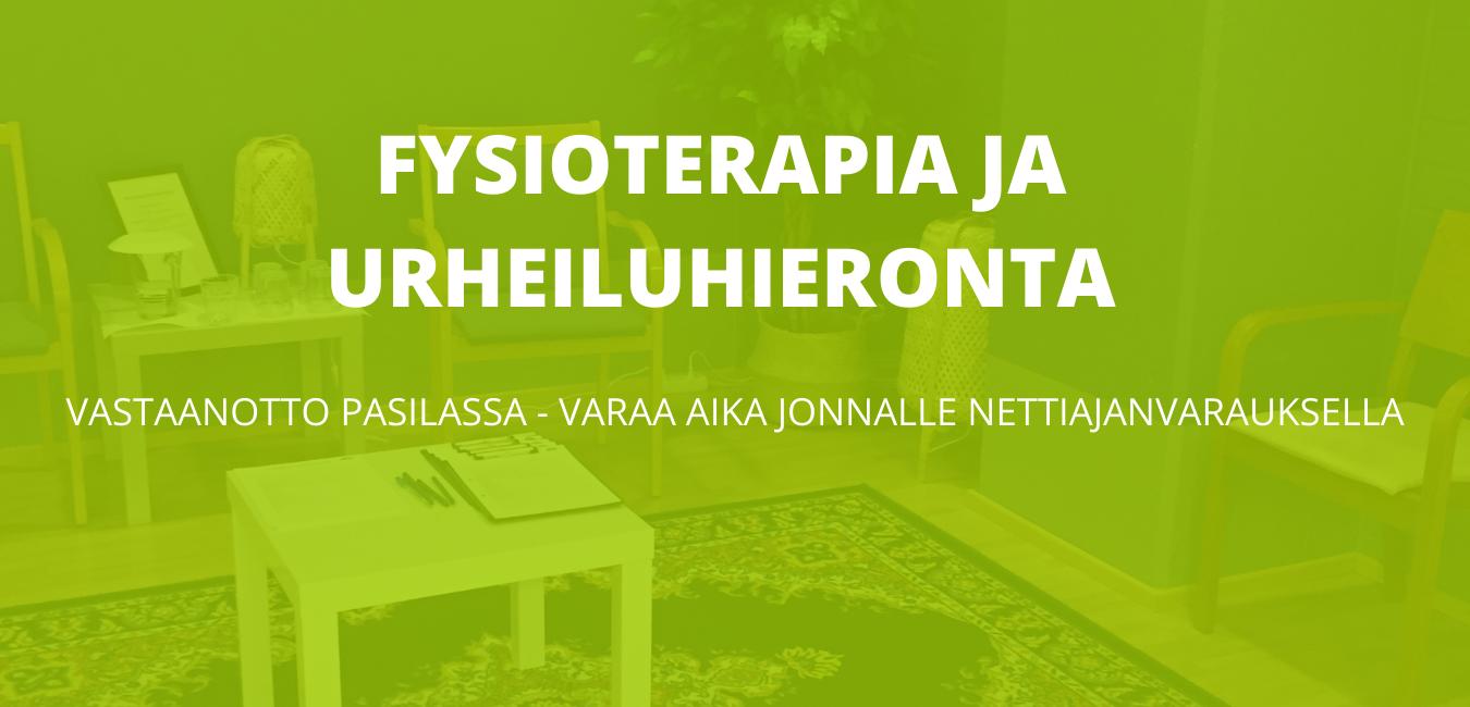 Fysioterapia Helsinki Pasila