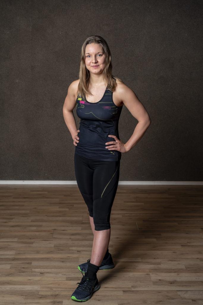 Naisvoimaa valmentaja Ruth Lindroos